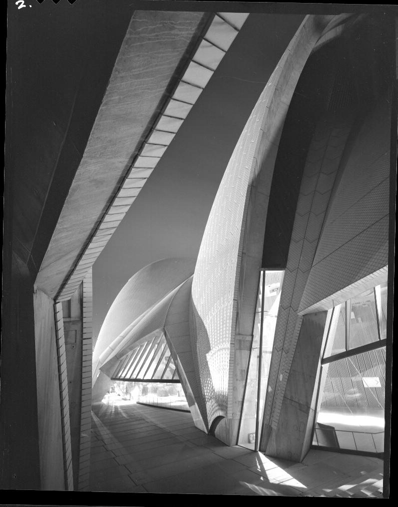 Fragment of Sydney Opera House by Night, 1973