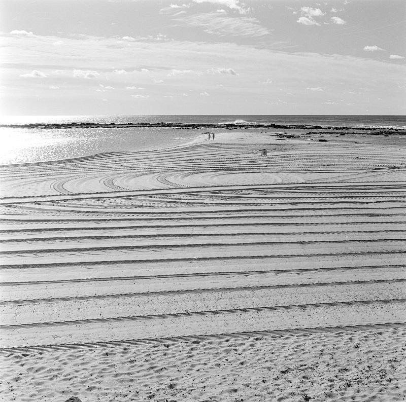 Patterns in sand, The Entrance 1987