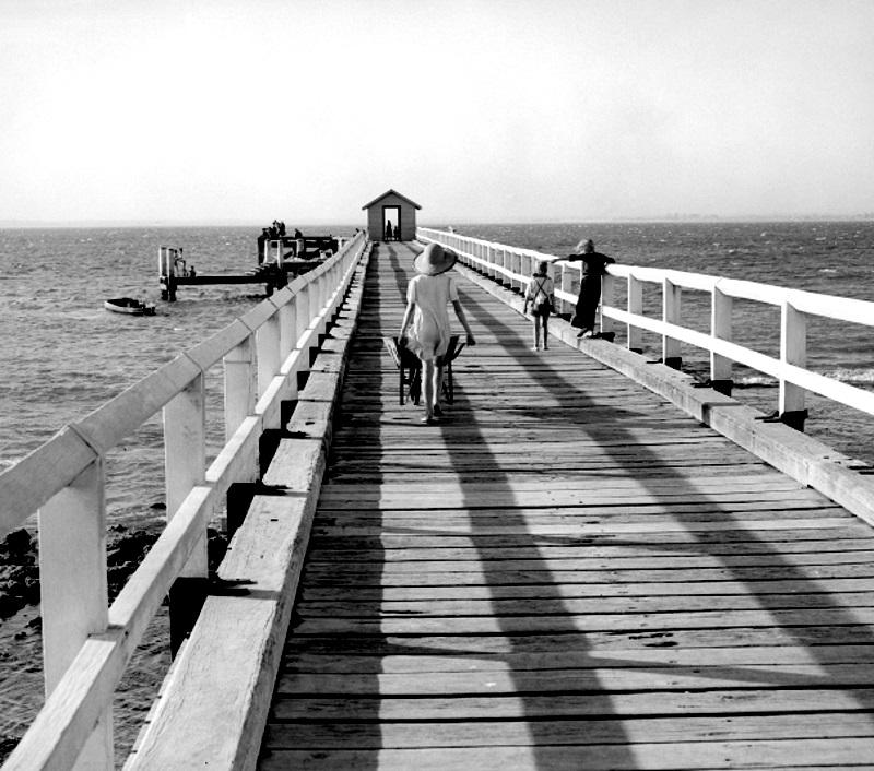 The Jetty, Silver Beach, 1952