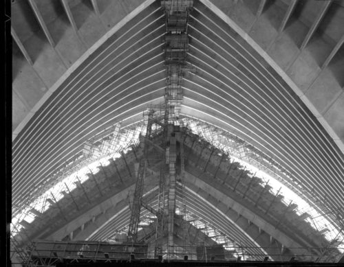 Max Dupain Print: Sydney Opera House – Concert Hall, 1963