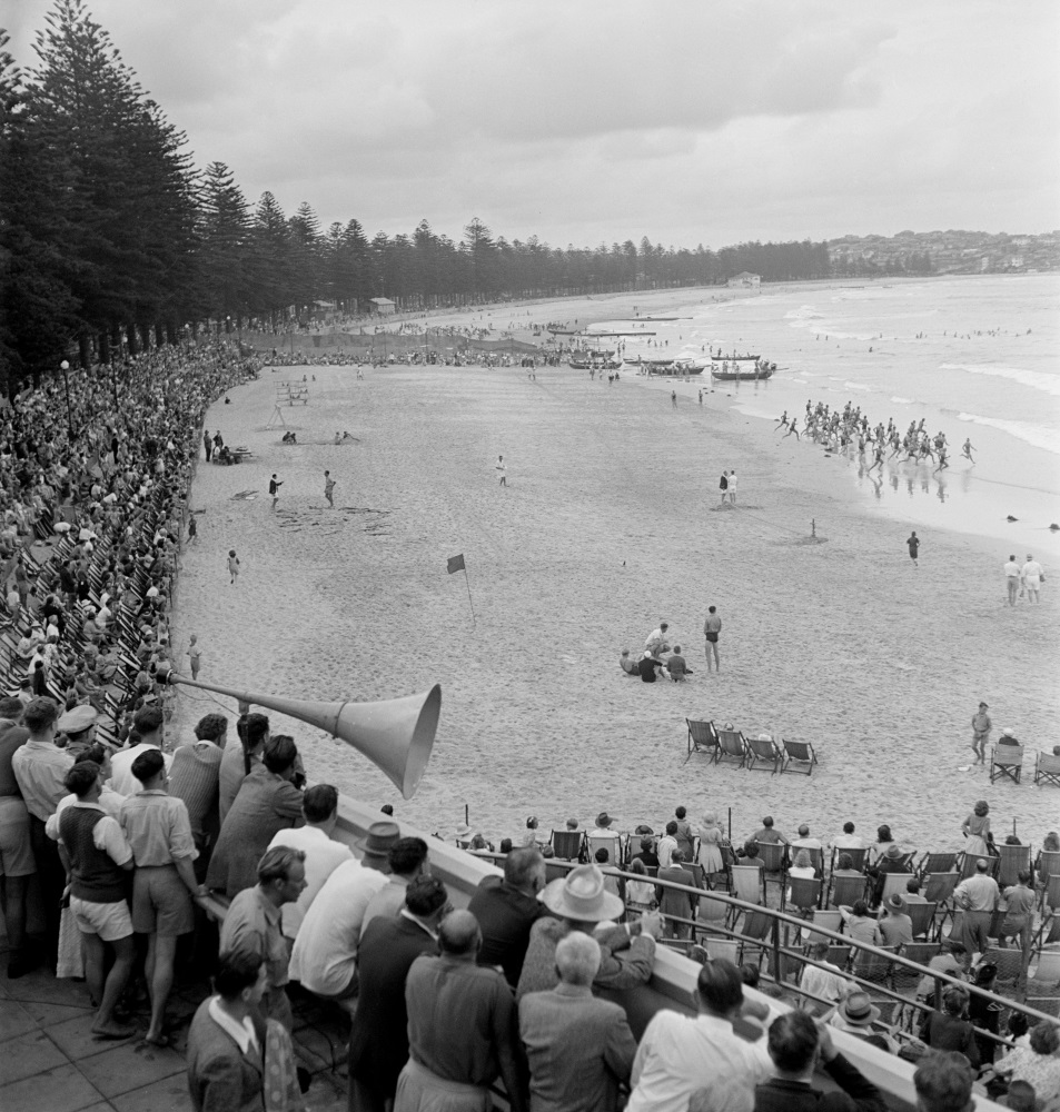 Surf carnival, Manly 1940s