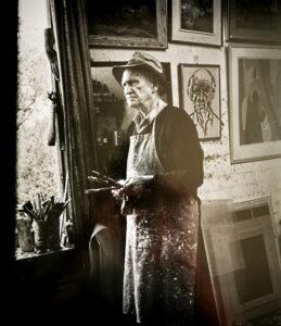 Lloyd Rees portrait