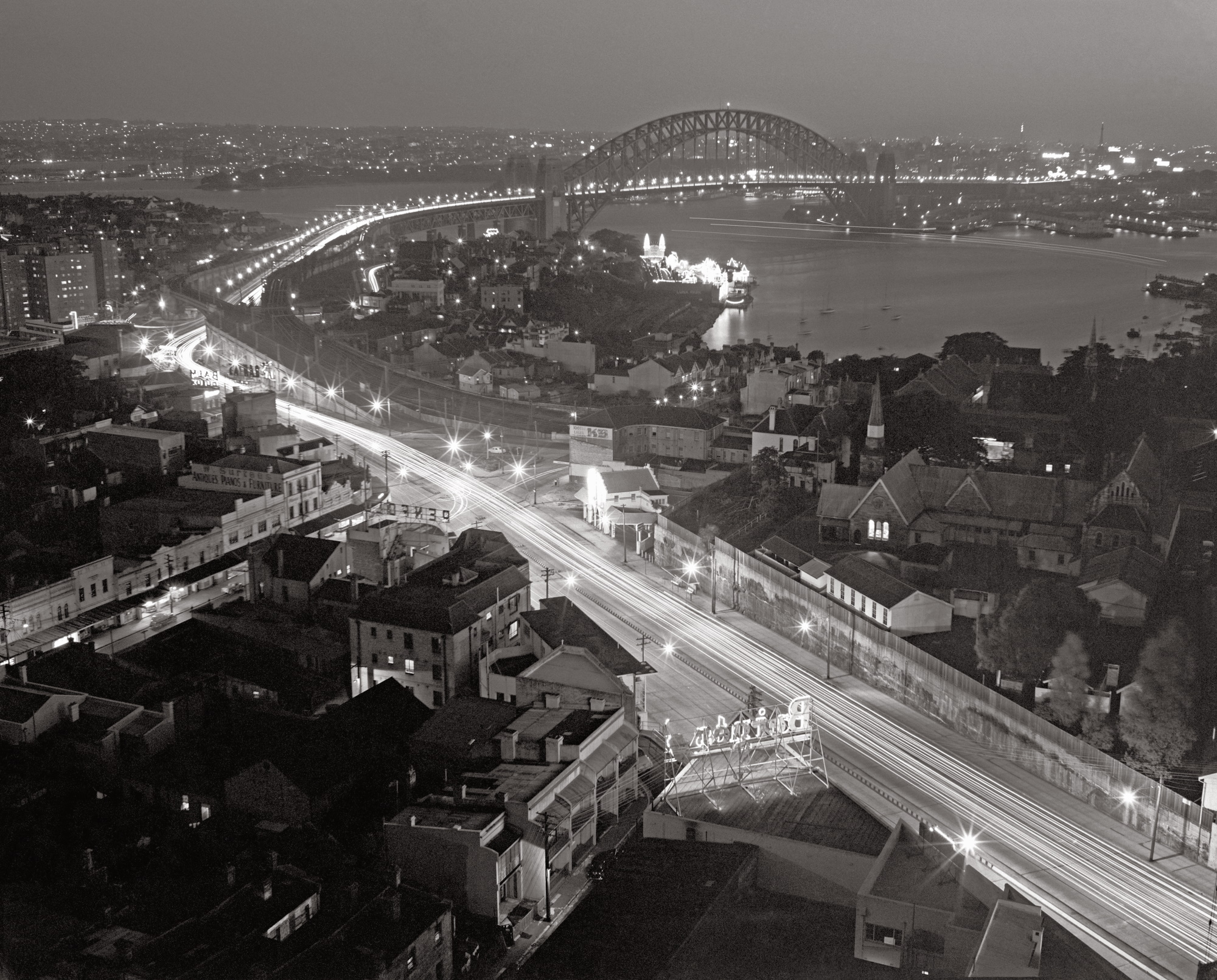 North Sydney from the MLC Building 1956